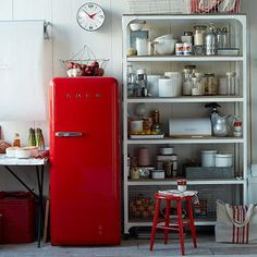 Smeg refridgerator..looking for a red refridgerator!!! hard to find