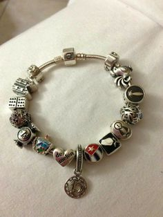 Cuban Pandora bracelet...This is so funny !! I didn't even know they had these !!