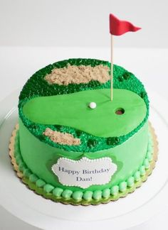 Philadelphia Birthday Cakes golf cake (This is an affiliate link) For additional information, check out picture web link. Golf Birthday Cakes, Sports Themed Cakes, Custom Birthday Cakes, Golf Cakes, Fondant Cakes, Cupcake Cakes, Golf Course Cake, Dad Cake, Fathers Day Cake
