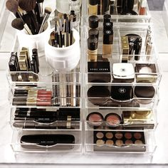 The best Acrylic Makeup Organizer Storage on the market | Boxy Girl