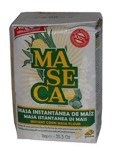 Harina de Maíz, Maseca, 1kg. Weisses Maismehl für Tortillas, Tamales, Atoles, Antojitos. Tamales, Guacamole, Water Bottle, Food, Foods, Mexico, Table, Essen, Water Bottles