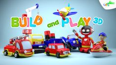 Build and Play 3D -  Planes Trains Robots and More by Croco Studio gone Free