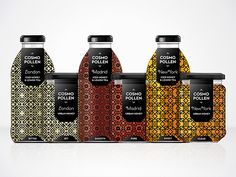 Cosmopollen Urban Honey by Louise Twizell, via Behance for our #honey loving #packaging peeps PD