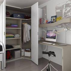 Habitación juvenil. #muebles #decoración #hogar #diseño #interiorismo