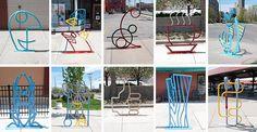 Downtown Toledo Bike Racks #2