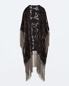 Image 7 of PRINTED KIMONO COAT from Zara