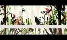 CJ Picture book animation Festival - Sponsor: CJ Cultural Foundation - Planner, Coordinator: Chun Sang-hyun Text: Elise fontenaille Illustration: Violeta…