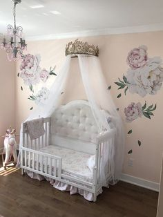 A Cute Nursery Design For The Little Princess In Your Life Baby
