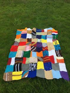 Mrs Weasley blanket knitted harry potter inspired crocheted