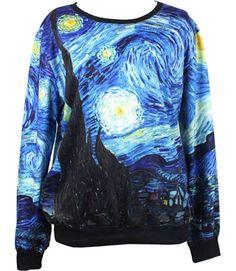 Van Gogh Sweater