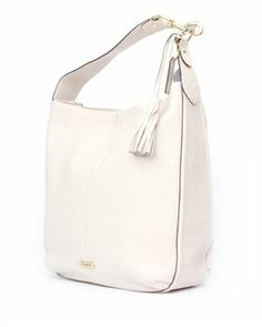 Coach Avery Solid Color Leather Hobo