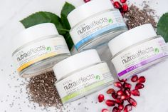 Introducing Avon nutraeffects! Our new skin care collection is suitable for sensitive skin, hypoallergenic, dermatologist-tested and dye-free made with chia seed, nature's perfect health-picked powerhouse!
