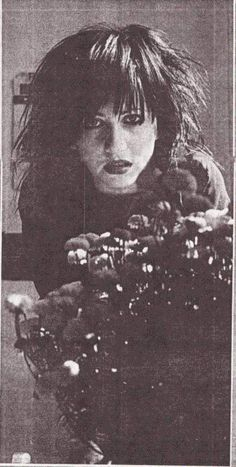 Lydia Lunch. I remember listening to her!