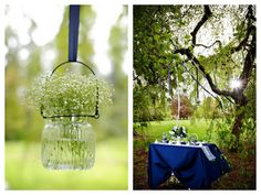 Oh Lovely Day™: {Styled Shoot} A Charming DIY Wedding