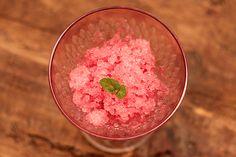 Granita de melancia - Refrescante e deliciosa