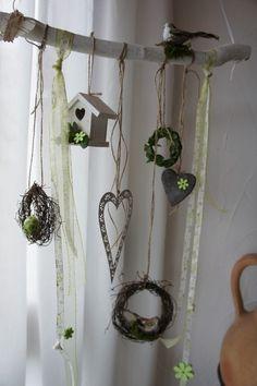 deko ast ostern decoration pinterest ostern ostern dekoration fenster und deko ast. Black Bedroom Furniture Sets. Home Design Ideas