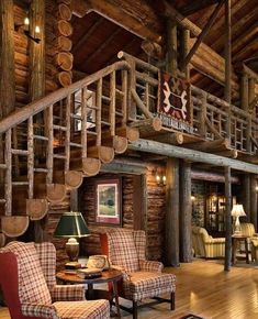 n this article, we will talk about excellent log cabin interior design you can apply into your cabin. Furnishing a log Cabin Interior Ideas. Log Cabin Living, Small Log Cabin, Log Cabin Homes, Log Cabins, Diy Log Cabin, Cabin Loft, Mountain Cabins, Cabin Interior Design, House Design