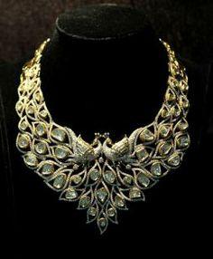 The Award Winning necklace by Kalajee #jewelry #Jaipur #diamonds