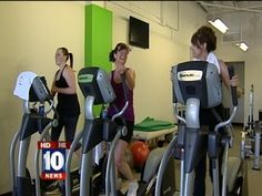 The green gym - Every bike and elliptical in the gym, near Scottsdale and Shea, is either self-powered or designed to return energy back to the grid.