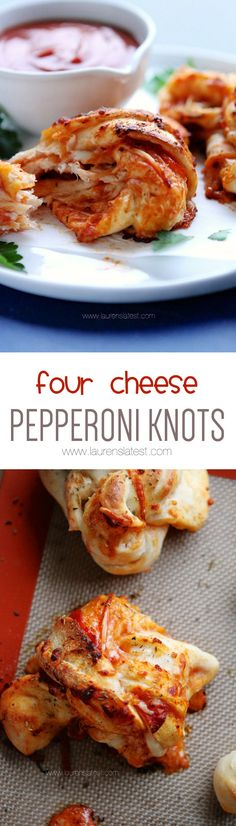 Four Cheese Pepperoni Knots