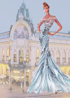Blanka Matragi – sketch of dresses II Posted on 11/02/2012 by luxussilk