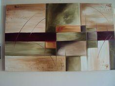 Abstrato medida 0,90 x 1,30