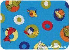Celebrate Seuss! - Celebration from Robert Kaufman SKU #ADE-10787-203 CELEBRATION - Dr. Seuss - Robert Kaufman