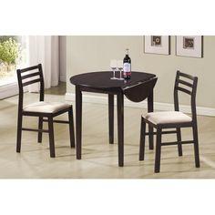 Wildon Home ® Lexington 3-Piece Dining Set in Cappuccino
