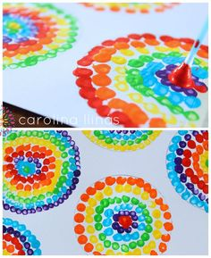 HANDPRINT RAINBOW PAINTING is a fun sensory art experience for kids. Get hands-on with paints and explore colour mixing and blending! A creative painting idea for St Patrick's Day and weather study themes. Fun Crafts To Do, Diy And Crafts, Arts And Crafts, Preschool Crafts, Crafts For Kids, Dot Day, Rainbow Painting, Rustic Wall Art, Butterfly Crafts