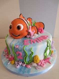 1000+ images about Nemo cake on Pinterest Finding nemo ...