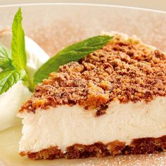 Cheesecake de Galletas de Chispas de Chocolate y Yoghurt