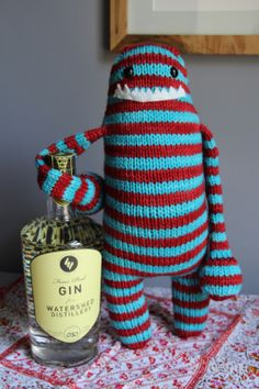 Knitted Monsters Like Gin, The Wool Dispensary