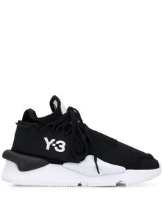 Shop online black Kaiwa knit sneakers as well as new season, new arrivals daily. Phenomenal luxury selection, get it now with quick Global Shipping or Click & Collect orders. Y3 Sneakers, Knit Sneakers, Sport Fashion, Mens Fashion, Minimalist Shoes, Minimalist Design, Guy, Minimalist Lifestyle, Sportswear Brand