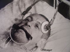"bundyspooks: "" An asylum patient recieving Electro Shock Therapy in the """