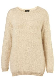 Knitted Fluffy Jumper