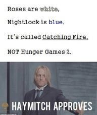"Lynn Cohen  puts it out there on her Facebook page that it's NOT Hunger Games 2.  Haymitch it seems is in quite a twit! No matter what it's called, Are you ""pumped"" to see it???"