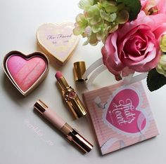 Heart pretty makeup