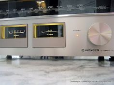 Vintage 1970s Pioneer stereo tuner.   Click on photo for more stereo pics and stories.