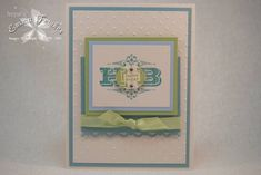 CC320 Birthday Greetings by Emma F - Cards and Paper Crafts at Splitcoaststampers