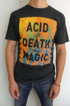 """Camisa Marca OBEY """"ACID OBEY DEATH 1989 MAGIC"""""""