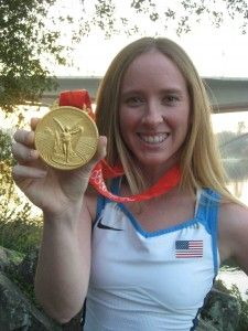 Mary Whipple, Olympic gold medalist coxswain and former UW coxswain