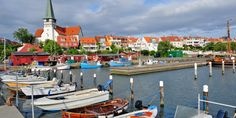 Bornholm, an island off Denmark, is your stop on day six. #Jetsetter