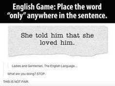 The Amazing English Language #magnificent Hashtags: #MaVi #Grammar