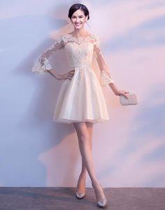 Rochie scurta ivory cu manecute Luxury Jewelry, Jewelry Box, Formal Dresses, Style, Fashion, Jewellery Box, Dresses For Formal, Swag, Moda