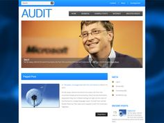 Audit is excellent choice for those looking for WordPress theme for personal website. It supports and comes with custom widgets, drop-down menus, javascript slideshow and lots of other useful features.