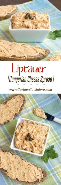 Bring a touch of Hungary to your next game day party or appetizer spread with this tasty, paprika-infused cheese spread. #SundaySupper