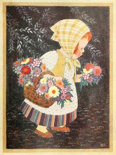 Chloe Preston, The Flower Girl by sofi01, via Flickr