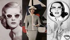 Bolsa e óculos anos 50