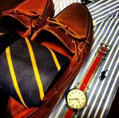 Polo Ralph Lauren | Sperry Tod-Sider | Timex Weekender | Tie
