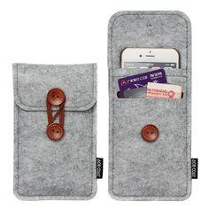 Aliexpress.com: Comprar Bolso del teléfono para el iPhone 6 más 5.5 pulgadas Case para iPhone 6 4.7 pulgadas bolsas bolsos del teléfono móvil del caso de la cubierta del fieltro de lana cartera de diagrama de casos de fiable proveedores en Hong Kong Billie
